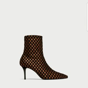 Zara High Heel Boots